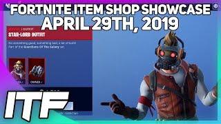 Fortnite Item Shop *NEW* STAR-LORD SET!! [April 29th, 2019] (Fortnite Battle Royale)