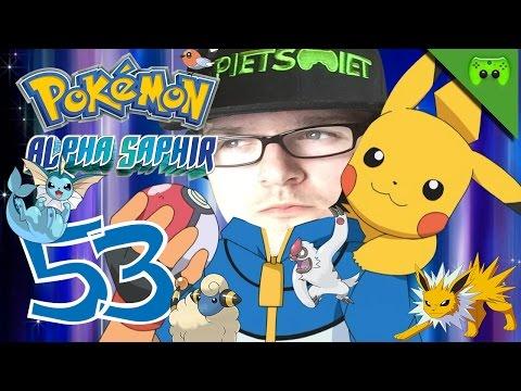 POKEMON # 53 - Der steinige Weg der Siegesstraße «»  Let's Play Pokemon Alpha Saphir | HD