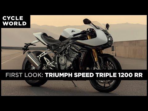 2022 Triumph Speed Triple 1200 RR | First Look