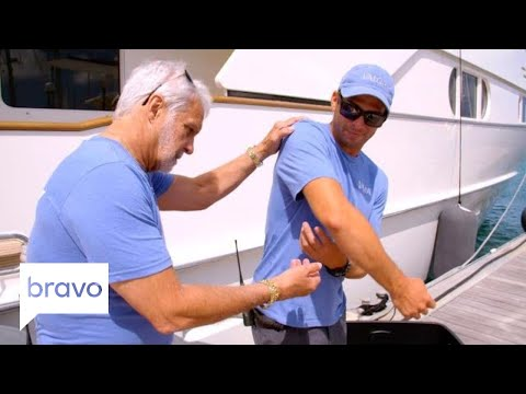 Below Deck: Nico Scholly Gets Rushed to the Hospital (Season 5, Episode 10) | Bravo