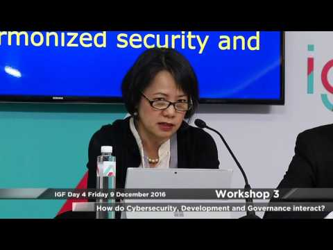 How do Cybersecurity, Development and Governance interact?