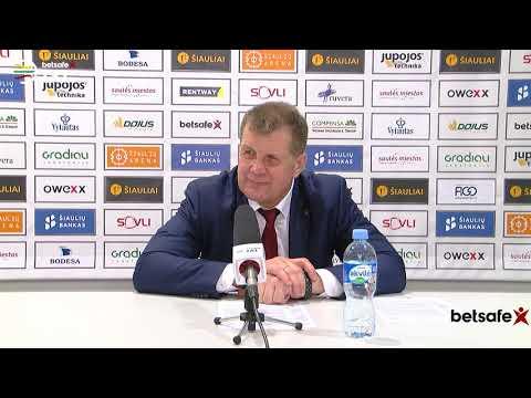 """""""Betsafe–LKL"""" rungtynių komentarai: """"Šiauliai"""" - """"Juventus"""" [2019-04-10]"""
