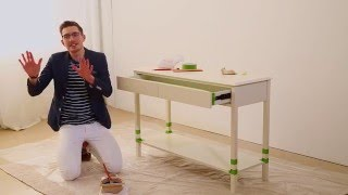 Will Taylor of Bright Bazaar wants to help you add a pop of color and whimsy to your home! In this quick and easy class, Will walks you through all the steps to transforming an old piece of furniture into a modern masterpiece using nothing but paint. You can customize this unique upcycling idea to fit your personal style or take a cue from Will and try his sophisticated nautical look. Either way, it's time to give your furniture the exciting makeover it deserves!