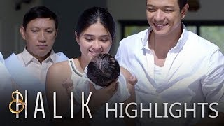 Jade attends to baby CJ's christening with Lino's family | Halik