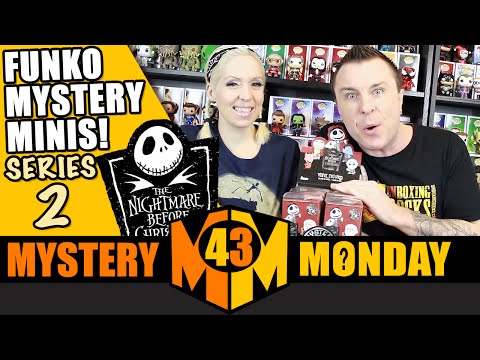Nightmare Before Christmas Funko Mystery Minis : Full Case Unboxing Part 1