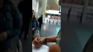 Angelique boyer vindo ao Brasil parte 1