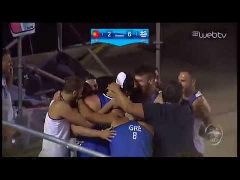 Παράκτιοι Μεσογειακοί Αγώνες | Χρυσό και οι άνδρες κόντρα στους Πορτογάλους | 28/08/2019 | ΕΡΤ