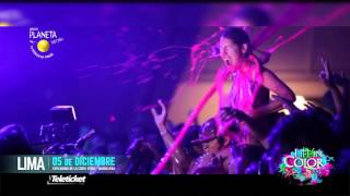 Tomás Esguep, Krewella y Bigbang te invitan al Life in Color