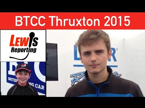 Aiden Moffat - Laser Tools Racing - BTCC Thruxton