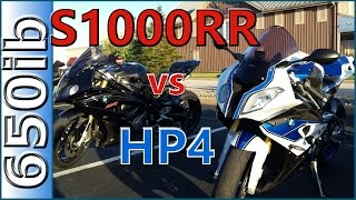5. BMW HP4 vs S1000RR | Walkaround and SMACKDOWN!!!