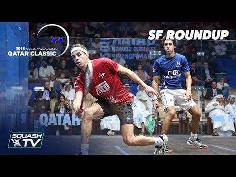 Squash: Semi Final Roundup - Qatar Classic 2018