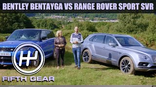 Bentley Bentayga VS Range Rover Sport SVR - The FULL Challenge | Fifth Gear by Fifth Gear