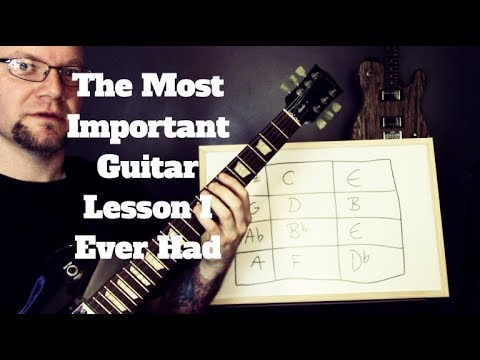 The Most Important Guitar Lesson I Ever Had – Learn Every Scale In Every Position