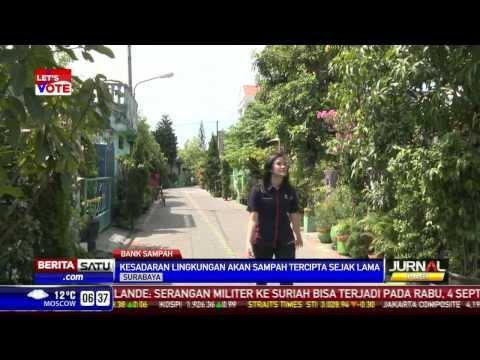 Kampung Jambangan, Kawasan Percontohan Penanggulangan Sampah