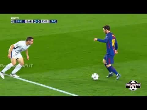 barcelona vs chelsea 3 0 resumen highlights goles 2018