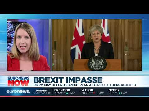 The EU reacts to Theresa May's Brexit plan