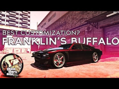 GTA V | Best Customization #1 | Franklin's Buffalo Edition!
