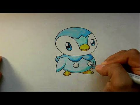 Wie zeichnet man Plinfa [Pokemon Tutorial]