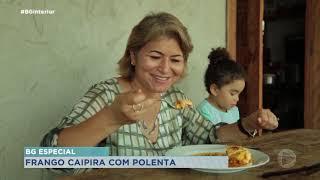 Aprenda a fazer um delicioso frango caipira com polenta