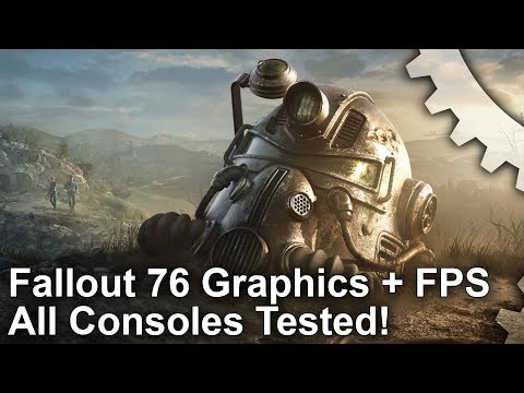 [4K] Fallout 76: PS4/PS4 Pro Vs Xbox One/Xbox One X - Every Console Tested!