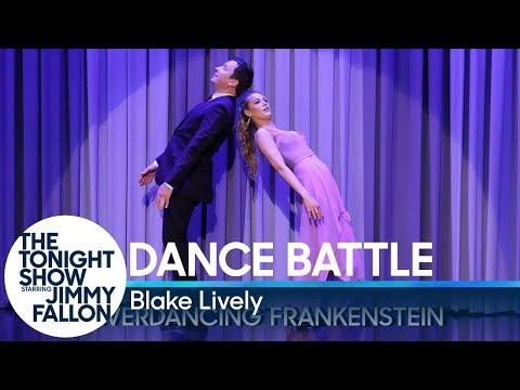 Dance Battle with Blake Lively (видео)