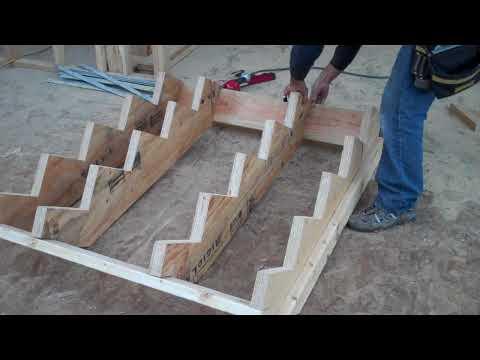 Как построить каркасный дом своими руками чертежи