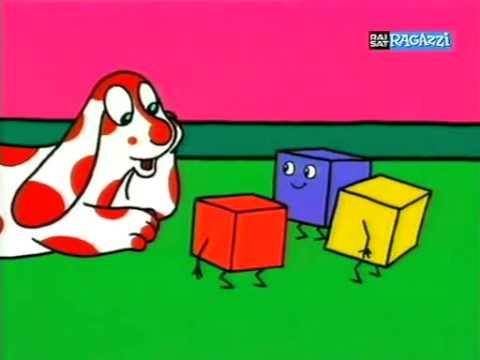Il cartone animato del cane bianco e rosso episodio completo cartone pimpa e l'aeroplano. Aeroplano pimpa cartone completo