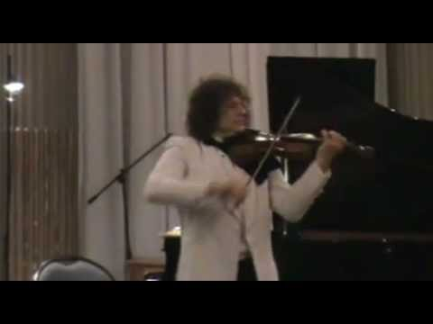 Alexander Markov in  Venice   J-S Bach Partita n°2 for violin  solo  in D minor.mp4