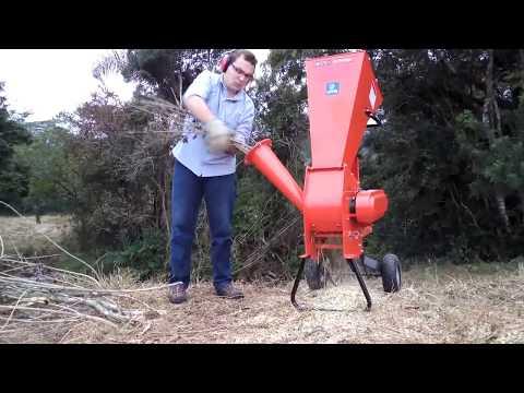 Triturador de galhos Lippel - BIO 76 E