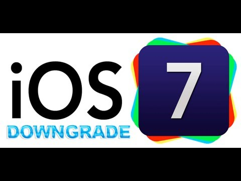 5.1.1 - Hello youtube! Today I will show you how to downgrade iOS 7 to iOS 5.1.1 on your iPhone 4. You will need 4 things 1. Redsnow 0.915B3 https://sites.google.com...