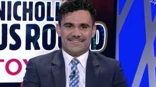Lindsay Thomas was part of the panel of the Marngrook Footy Show this week. Here are some highlights.