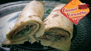 vegetable egg roll in tamil - Frankie recipes