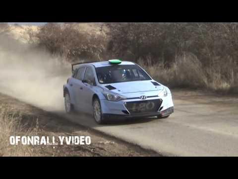 LP Winner Motorsport Hyundai I20 R5 Teszt 2016 - ofonrallyvideo