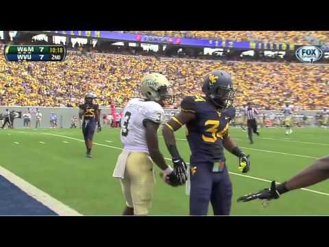 Tre McBride vs West Virginia 2013 video.