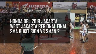 Video CUPLIKAN : SMA BUKIT SION vs SMAN 2 - HONDA DBL WEST REGIONAL FINAL Q1 MP3, 3GP, MP4, WEBM, AVI, FLV Oktober 2018