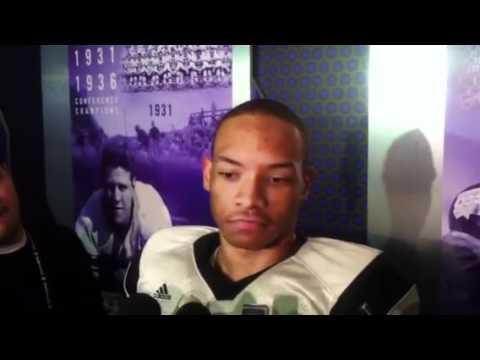 Tony Jones Post-Practice Interview 3/31/2012 video.