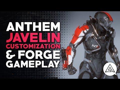 Personnalisation des Javelins de Anthem