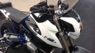 5. BMW HP2 Megamoto walk around