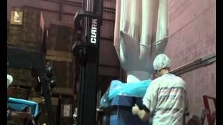 Velkoobjemové vakuové balení