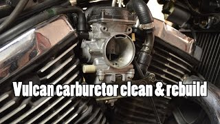 10. How-To: Kawasaki Vulcan VN800 Carburetor clean rebuild 1995-2006