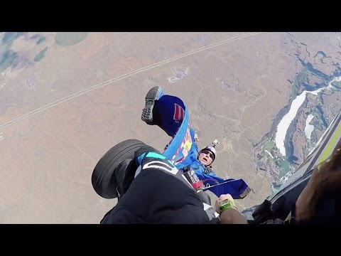 Skydiver in Lebensgefahr