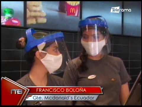 McDonald's reapertura local en Guayaquil con innovación tecnología e inclusión social