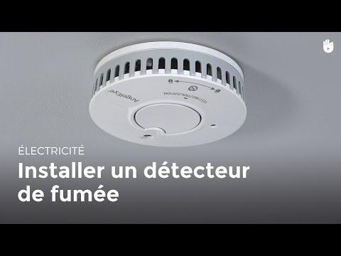 Installer Un Détecteur De Fumée   Bricolage
