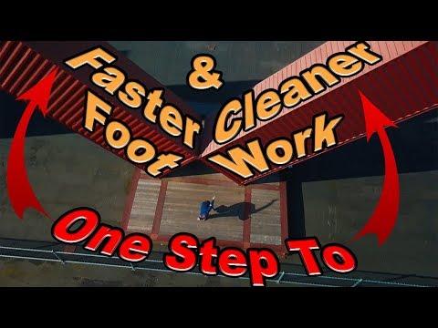 Faster And Cleaner Footwork (In One Simple Step) - Footwork Tutorial