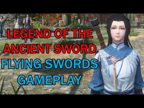 Flying Swords Magician Gameplay - Legend of the Ancient Sword Online