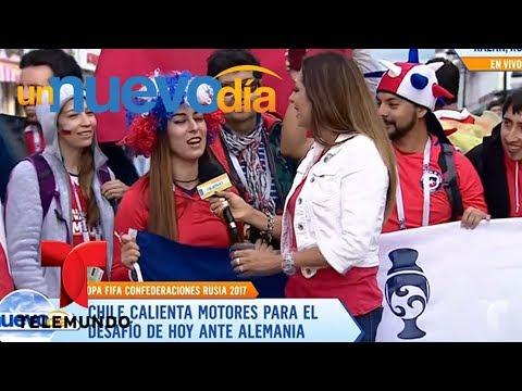 """Notícias dos famosos - ¡""""La Marea Roja"""" invade las calles de Kazán!  Un Nuevo Día  Telemundo"""