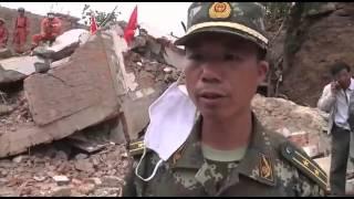 شمار تلفات زمینلرزه چین از مرز ۴۰۰ نفر گذشت