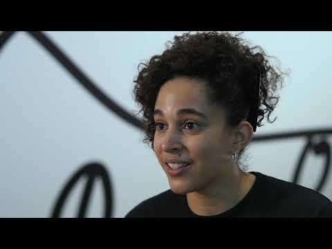 Still image from Shantell Martin Discusses Her Installation at the Denver Art Museum
