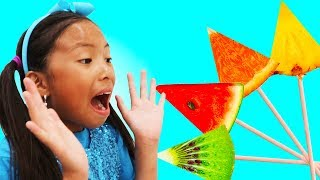 Video Learn Colors with Fruits Song   Wendy Pretend Play Nursery Rhymes & Kids Songs MP3, 3GP, MP4, WEBM, AVI, FLV Juli 2019