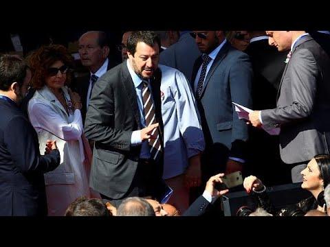 Ψήφους στον ιταλικό νότο κυνηγά ο «βόρειος» Σαλβίνι